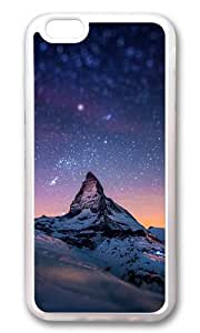 iPhone 6 Case,VUTTOO Stylish Starry Night With A Mountain Soft Case For Apple iPhone 6 (4.7 Inch) - TPU Transparent