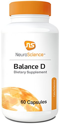 (NeuroScience Balance D - Mucuna 99% L-DOPA Mood Support with Ingredients Important for Dopamine Synthesis (60 Capsules))