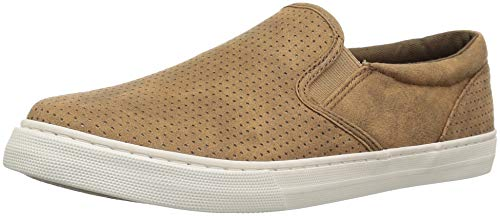 The Children's Place Boys' Slip On Sneaker, Roasted Nuts, 0-3MONTHS Child US Infant
