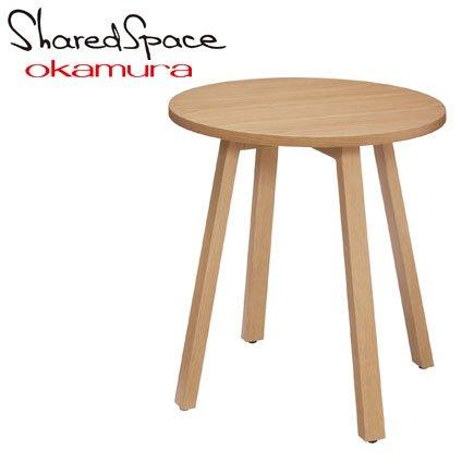 オカムラ シェアードスペース サークルローテーブル800 8SHC8L-WE28 幅φ80×高さ45cm B01MA2YCCR