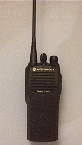 Motorola CP200 UHF Two Way Radio, 4 Channel, 4 Watt (438-470 Mhz)