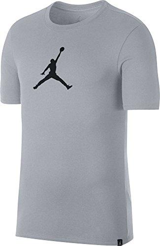 Nike Mens Jmtc Tee 23/7 Jumpman Lupo Grigio / Nero
