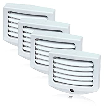 maxxima mln 11 led night light with adjustable louvers and. Black Bedroom Furniture Sets. Home Design Ideas