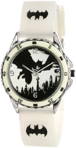 Batman Kids' BAT9005 Analog Display Analog Quartz Green Watch