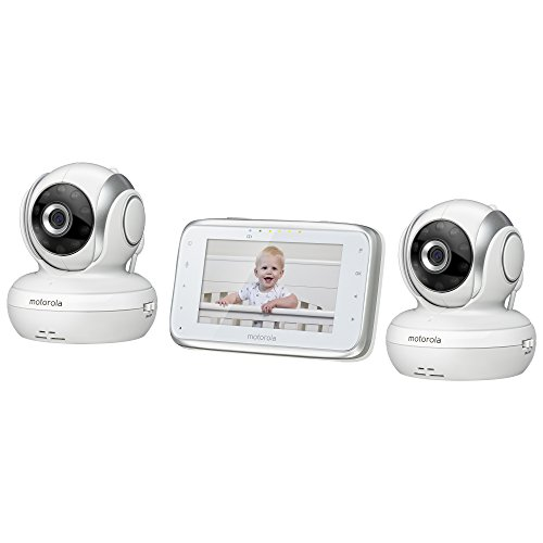 motorola mbp38s 2 digital video baby monitor with 4 3 inch color lcd screen and 2 cameras with. Black Bedroom Furniture Sets. Home Design Ideas