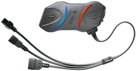 Sena SMH10RD-01 SMH10R Sistema di Comunicazione Bluetooth per Moto a Basso Profilo Dual Pack