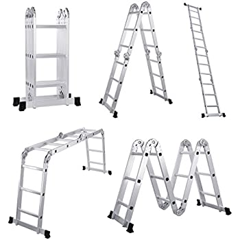 Gp Logistics Sldd7 7 Compact Folding Ladder Collapsible