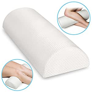 Amazon Com Back Pain Relief Memory Foam Pillow Half