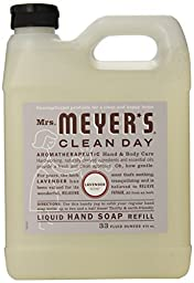 Mrs. Meyer\'s Clean Day Liquid Hand Soap Refill - Lavender - 33 ounce