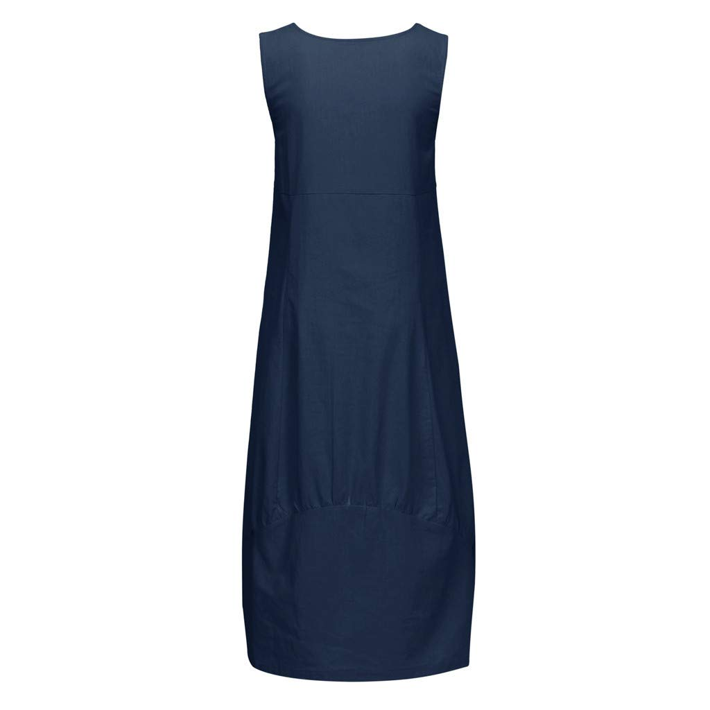 d59798a05552 Sommerkleider Damen Langes Kleider Große Größen,Frauen Beiläufige ...