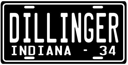 John Dillinger Great Depression Era Gangster 1934 Indiana...