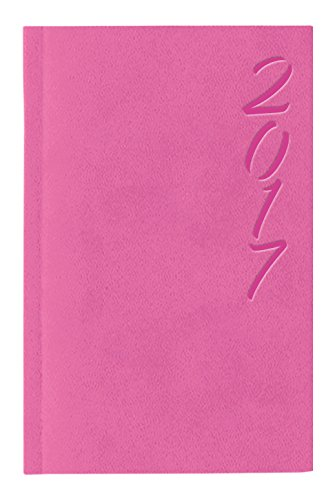 Dohe Brasilia - Agenda de bolsillo 2018, semana vista, color Rosa, tamaño: 8.5 x 13 cm