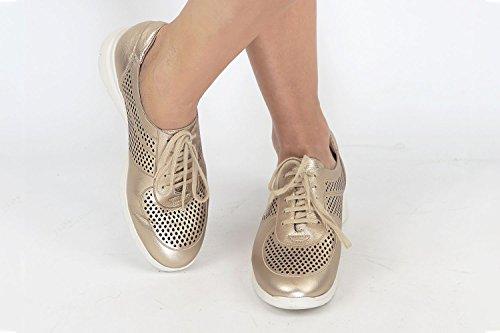 Orion Piesanto Sneaker Comfort Donna 180992 Platino Scarpe XpqXB