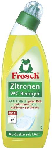 Frosch Zitronen WC Reiniger, 10er Pack (10 x 750 ml)