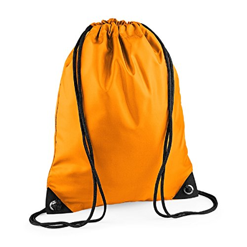 bag BagBase Pocket Retro Strap shoulder Colours Unisex Zipped Orange xwA0z6qTw