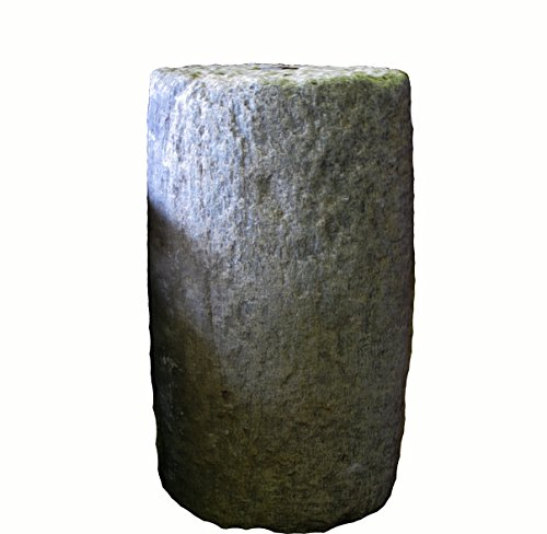Tall Granite Mill Stone Water Fountain by DYAG East