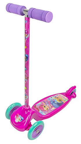 Amazon.com: Shimmer and Shine 2671 3 Wheels Micro Scooter ...