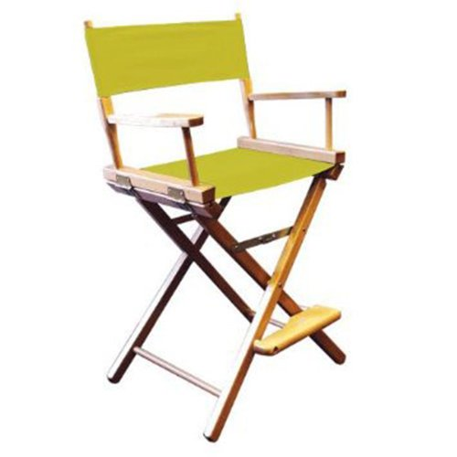 Gold Medal 24'' Table Height CONTEMPORARY Directors Chair