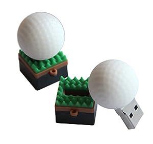 Tomax Golfball Ball Sport als USB Stick 3.0 mit 8 GB USB 3.0 Speicherstick...