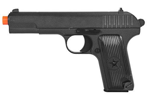 UK Arms G33 TT33 Spring Airsoft Pistol (Black) (Best Air Pistol For Hunting Uk)