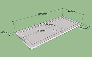 Ducha y baño Ideas - 1500 x 700 para puerta corredera doble caja ...