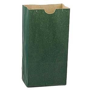Amazon.com: Hygloss Products - Bolsas de papel verde oscuro ...