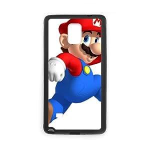 Samsung Galaxy Note 4 Cell Phone Case Black Super Smash Bros Mario F3B3WQ