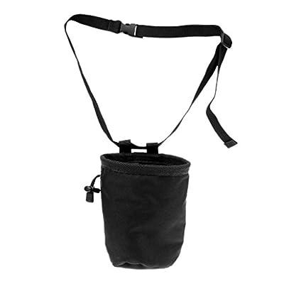 """FidgetFidget Chalk Bag with Belt 4.1"""" x 5.8"""" Cylindrical Waterproof Climber Rock Climbing"""