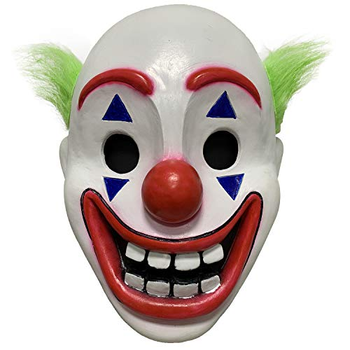 Clown Mask 2019 Movie Joker Cosplay Party Costume Halloween Accessory