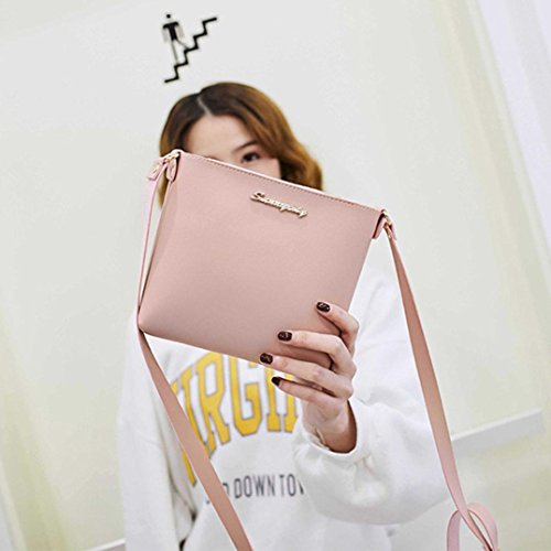 Purse Women Coin Clearance Bag Messenger Bag Phone Shoulder Bag Fashion Pink Bag Crossbody Cqt56t