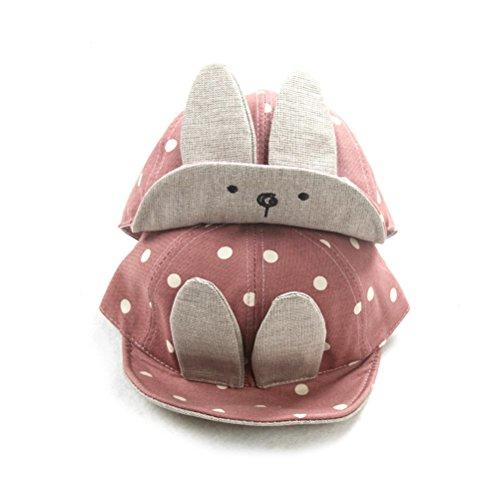 Baby Girl Baseball - Tinksky Baby Boy Girl Kid Toddler Infant Sun Hat Peaked Baseball Beret Cap (Pink)