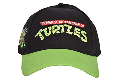 Teenage Mutant Ninja Turtles Hat (Boys 'Ninja Turtles' Green Adjustable Baseball Cap)