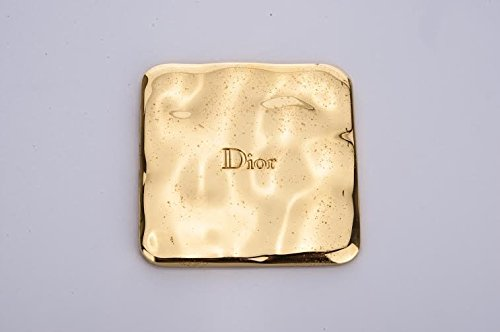 Christian Dior compact square gold Tone - Gold Christian Dior