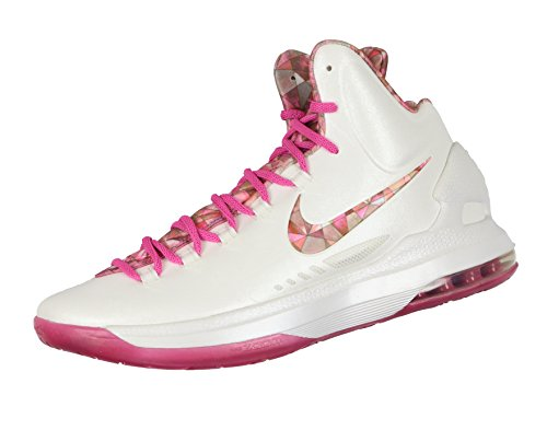 02d240895116 Nike Men s KD V Premium Aunt Pearl Edition Basketball Shoes 12.5 M US White  Pink