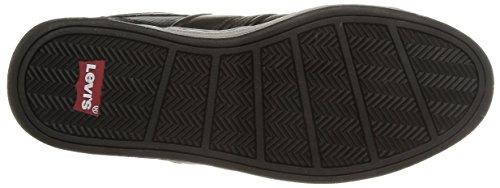 Levi's Pinole Low - Zapatillas de Deporte de material sintético hombre negro - Noir (59 Regular Black)