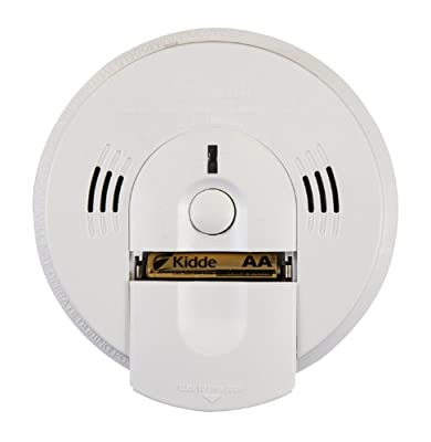 Kidde KN-COSM-IBA Hardwire Combination Smoke/Carbon Monoxide Alarm with Battery Backup and Voice Warning, Interconnectable (2 Pack)