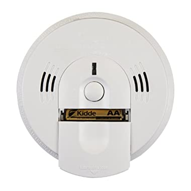 Kidde Battery-Operated Combination Smoke/Carbon Monoxide Alarm with Voice Warning KN-COSM-BA