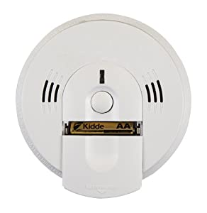 kidde battery operated not hardwired combination smoke carbon monoxide alarm. Black Bedroom Furniture Sets. Home Design Ideas