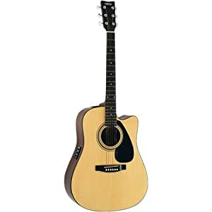 yamaha fx01c acoustic electric guitar refurbished musical instruments. Black Bedroom Furniture Sets. Home Design Ideas