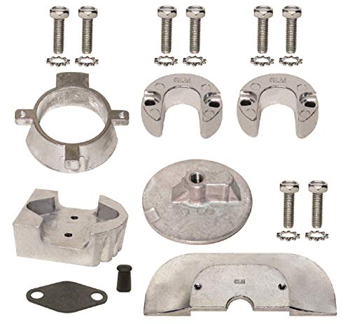 - Aluminum Anode Kit for Mercruiser Sterndrive Alpha One Generation II Gen 2 1991 & Up Replaces 888756Q03 Read Product Description for Applications