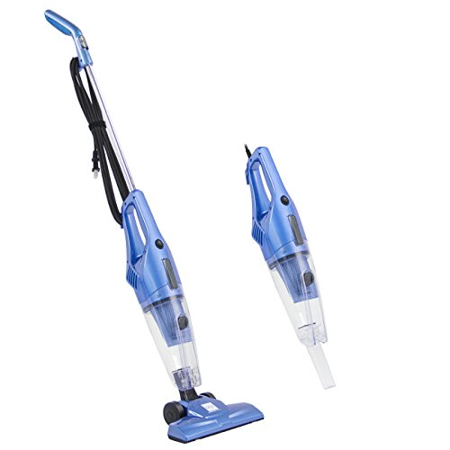 Best Choice Products 600W 2-IN-1 Upright Stick And Handheld Vacuum Cleaner W/ HEPA Filtration, Crevice Tool- Blue Review