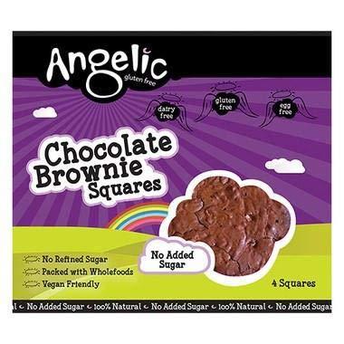 ANGELIC GLUTEN FREE Cuadrados De Brownie De Chocolate (Chocolate Brownie Squares)