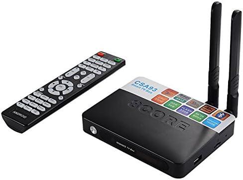 Tblaze Android TV Box, Amlogic S912 Octa-core CPU 64-Bit 4K/3D/3GB/32GB AC  Wireless Dual Band WiFi 2 4GHz/5GHz Ready to Stream Media Center,Keyboard