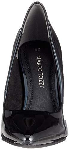 comb Marco navy 858 Tacco Donna Scarpe 2 858 Con 2 21 22423 Tozzi Blu Pat HqwOprH