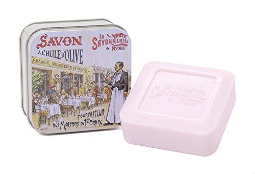 La Savonnerie de Nyons, Soap in A Tin Box Paris 3, La Brasserie, 100 g