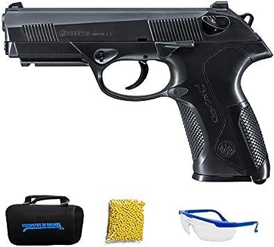 UMAREX BERETTA PX4 Storm (6mm) - Pistola de Airsoft Calibre 6mm (Arma Aire Suave de Bolas de plástico o PVC). Sistema: Muelle. <3,5J
