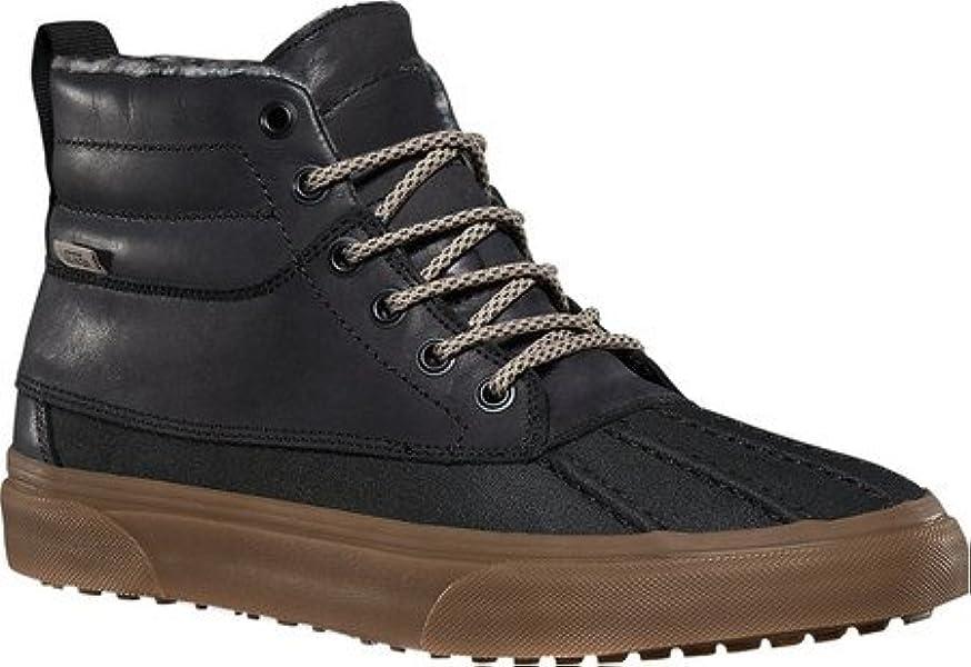 985378822b Vans Mens SK8-Hi Del Pato All Weather MTE Duck Shoes Black 6.5 Medium (D)   Amazon.co.uk  Shoes   Bags