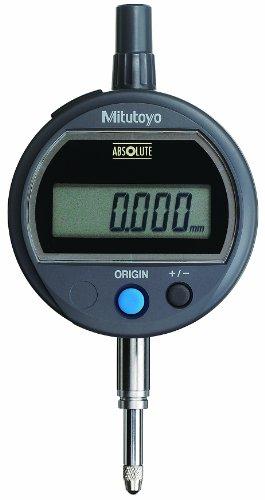 Mitutoyo 543-500B Absolute Solar Digimatic Indicator, 0-12.7mm Range, 0.001mm Resolution, Flat ()