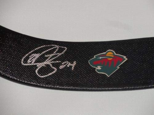 Mathew Dumba Signed Hockey Stick Minnesota Wild Autographed Matt Autographed NHL Sticks