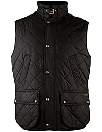 MEN'S BIG AND TALL DIAMOND-QUILTED VEST